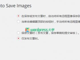 WordPress 自动下载保存远程图片到自己的主机 QQWorld Auto Save Images