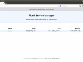 Monit - 监控Linux守护程序,文件系统,CPU,文件和网络